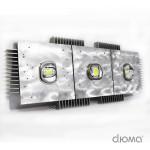 Светодиодный светильник ДКУ-121-50 PROM-300 3